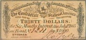 30 Dollar Loan – obverse