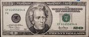 20 Dollars (Federal Reserve Note; large portrait) – obverse