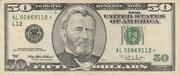 50 Dollars (Federal Reserve Note; large portrait) – obverse
