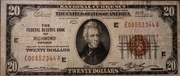 20 Dollars (Federal Reserve Bank Note; Series 1929) – obverse