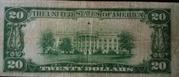 20 Dollars (Federal Reserve Bank Note; Series 1929) – reverse