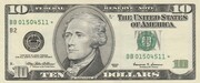 10 Dollars (Federal Reserve Note; large portrait) – obverse