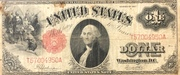 1 Dollar (United States Note; Series of 1917) – obverse