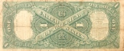 1 Dollar (United States Note; Series of 1917) – reverse