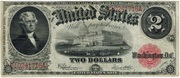 2 Dollars (United States Note; Series of 1917) – obverse