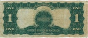 1 Dollar (Silver Certificate; Series of 1899) – reverse