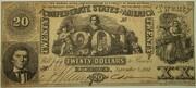 Type 20 - 20S - Troisième émission du 19 août 1861 – obverse