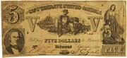 5 Dollars - Type 37 – obverse