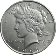 "1 Dollar ""Peace Dollar"" -  obverse"