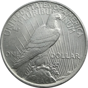 """1 Dollar """"Peace Dollar"""" -  reverse"""