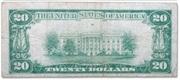 20 Dollars (Gold Certificate) – reverse
