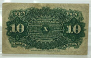 "10 Cents (""Fractional Currency"" - 4th issue) – reverse"