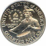 "¼ Dollar ""Washington Quarter"" (Bicentennial) -  reverse"