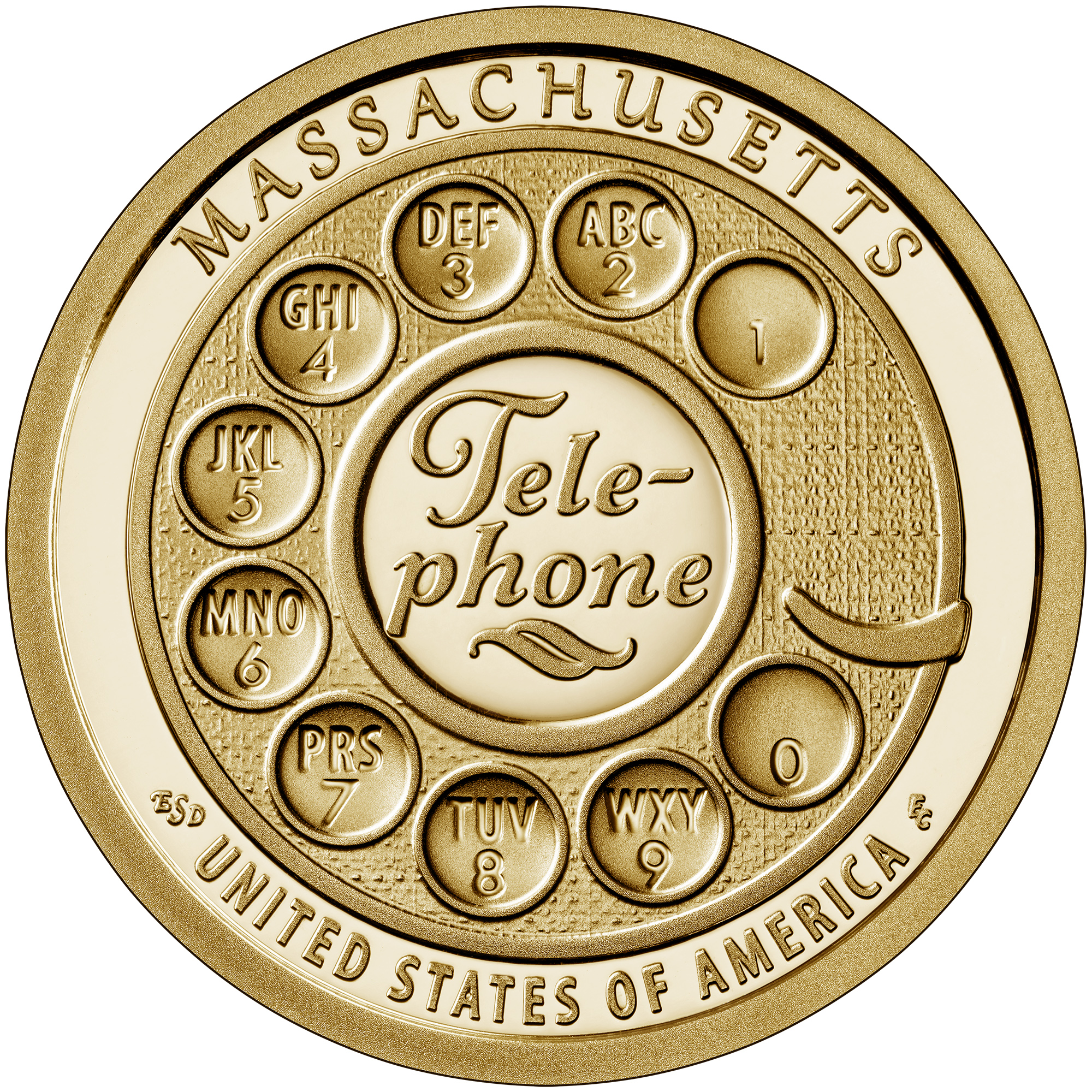 2020 P /& D AMERICAN INNOVATION Massachusetts~Telephone NGC MS65 Early Both Coins