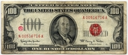 100 Dollars (United States Note) – obverse
