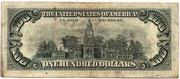 100 Dollars (United States Note) – reverse