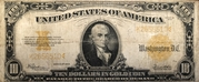 10 Dollars (Gold Certificate) – obverse