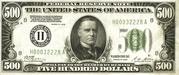 500 Dollars (Federal Reserve Note) – obverse