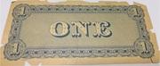 1 Dollar (Serie 1864) – reverse