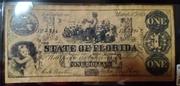 1 Dollar (State of Florida) – obverse