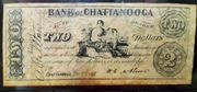 2 Dollars (Bank of Chattanooga) – obverse