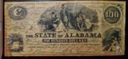 100 Dollars (The State of Alabama) – obverse