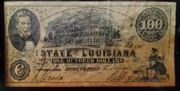 100 Dollars (The State of Louisiana) – obverse
