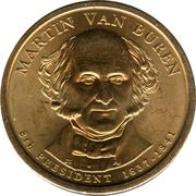 1 Dollar (Martin Van Buren) -  obverse