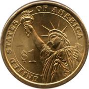 1 Dollar (Martin Van Buren) -  reverse