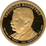 1 Dollar (Theodore Roosevelt) -  obverse