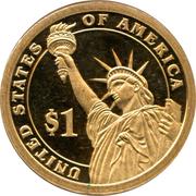 1 Dollar (Theodore Roosevelt) -  reverse