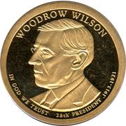 1 Dollar (Woodrow Wilson) -  obverse