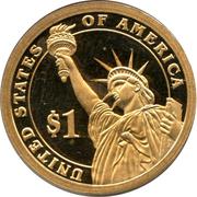 1 Dollar (Woodrow Wilson) -  reverse