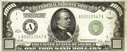 1,000 Dollars (Federal Reserve Note) – obverse