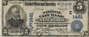 5 Dollars (National Bank) – obverse