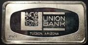 1000 Grains Silver (Franklin Mint - Union Bank; Tucson, Arizona) -  obverse