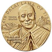 Medal - Dalai Lama -  obverse