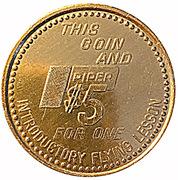 5 Dollars - Piper Flite Center -  obverse