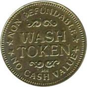 Wash Token - Vista Enterprises LLC (Rapid City, South Dakota) – reverse