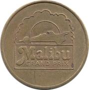 Token - Malibu Money (Malibu Grand Prix; Woodland Hills, California) – obverse