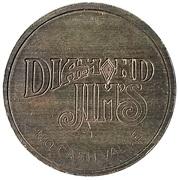 Token - Diamond Jim's (Grooves) -  obverse