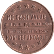 Token - Cinemark (Movie) -  reverse