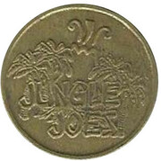 Video Game Token - Jungle Joes (Portage, Michigan) -  obverse