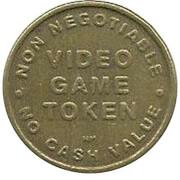 Video Game Token - Jungle Joes (Portage, Michigan) -  reverse