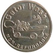 25 Cents - Gator Wash – obverse