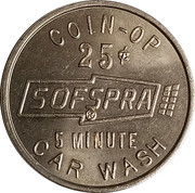 25 Cents - Sofspra (Myrtle Creek, Oregon) – obverse