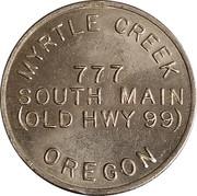 25 Cents - Sofspra (Myrtle Creek, Oregon) – reverse