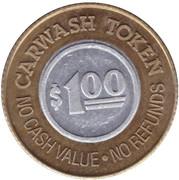 1 Dollar Carwash Token - Buggy Bath (Mesa, Arizona) – reverse