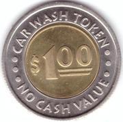 1 Dollar Car Wash Token - Oasis Palms (Mesa, Arizona) – reverse