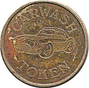 1 Dollar Car Wash Token – obverse